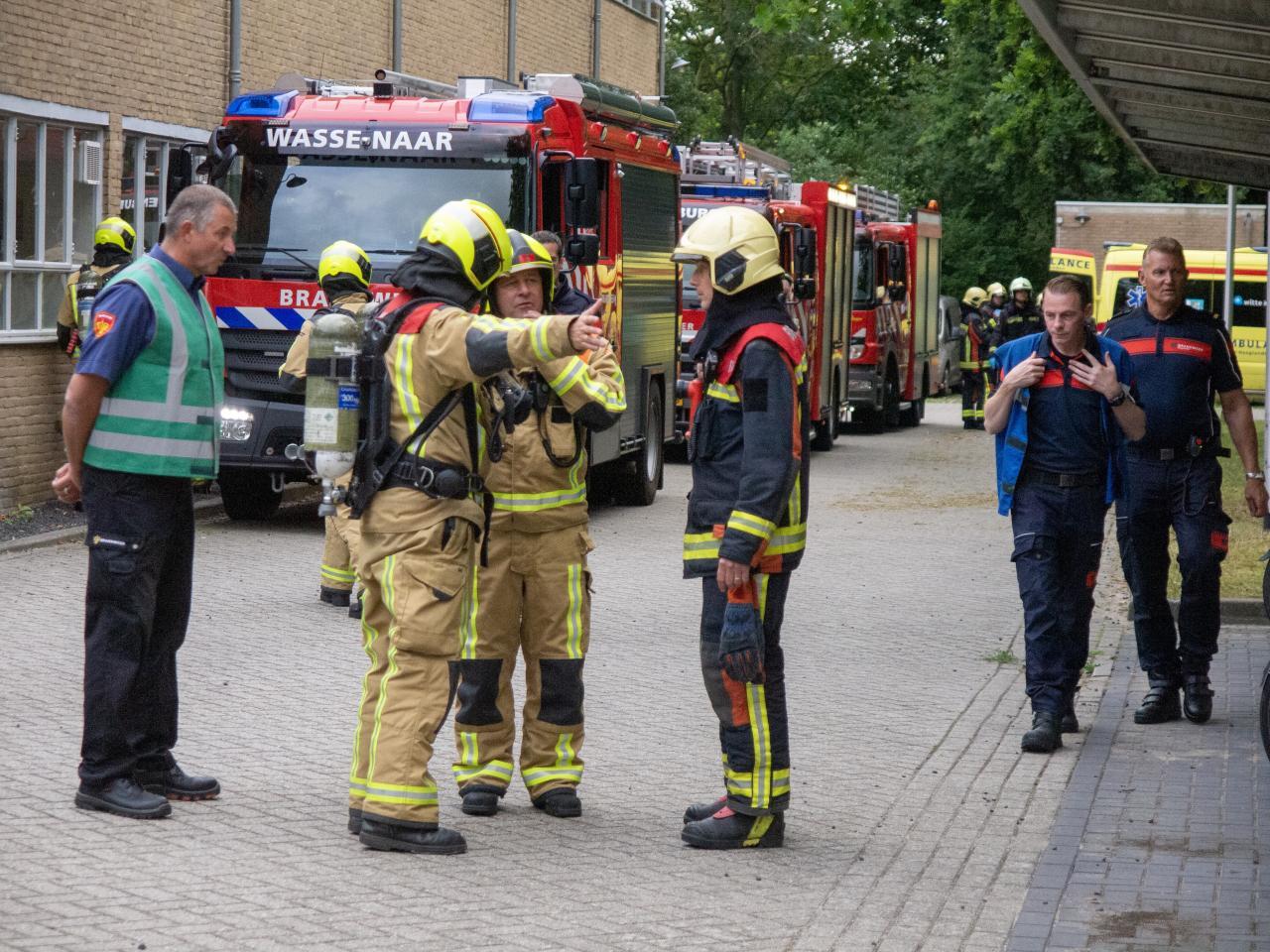 Inzet brandweermensen Veiligheidsregio Haaglanden