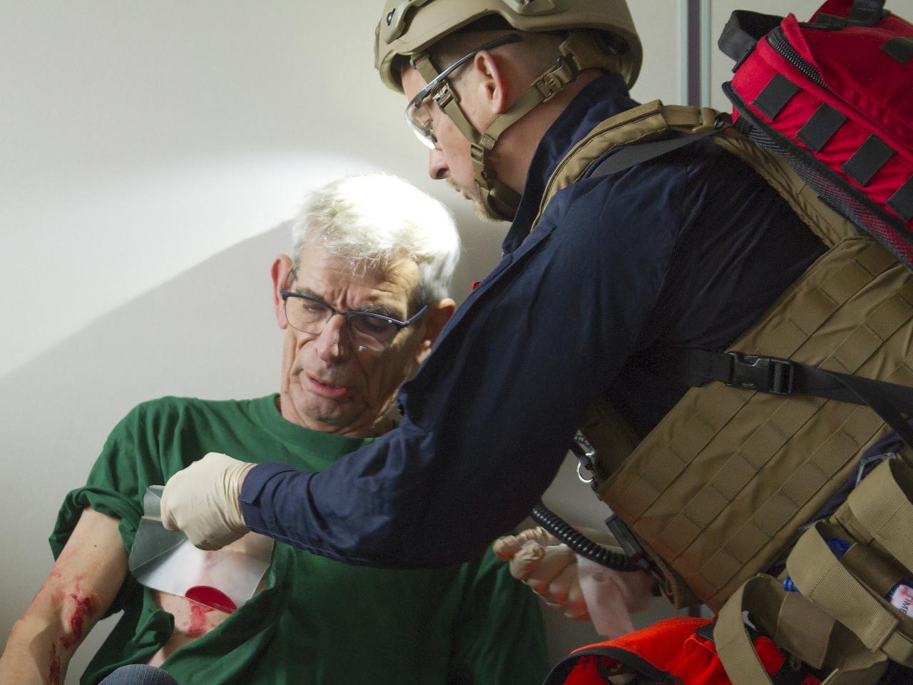 Quick Rescue Team van Brandweer Haaglanden