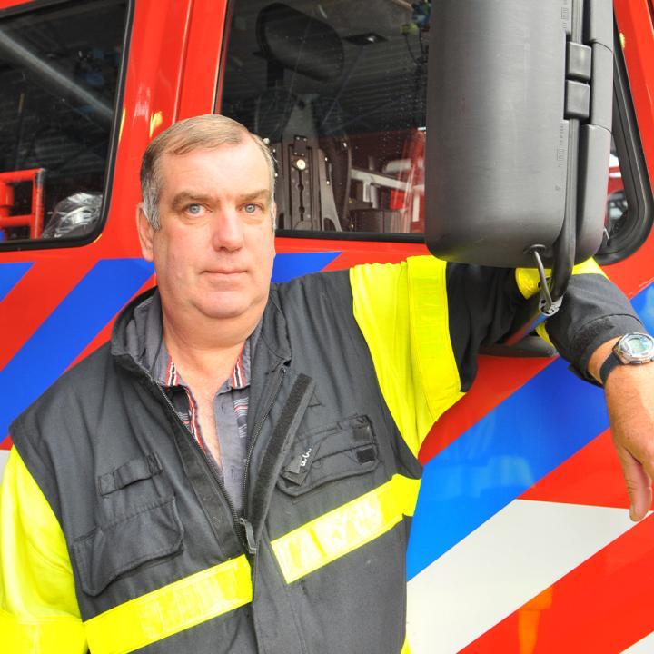 Gerrit Werkhoven op de foto