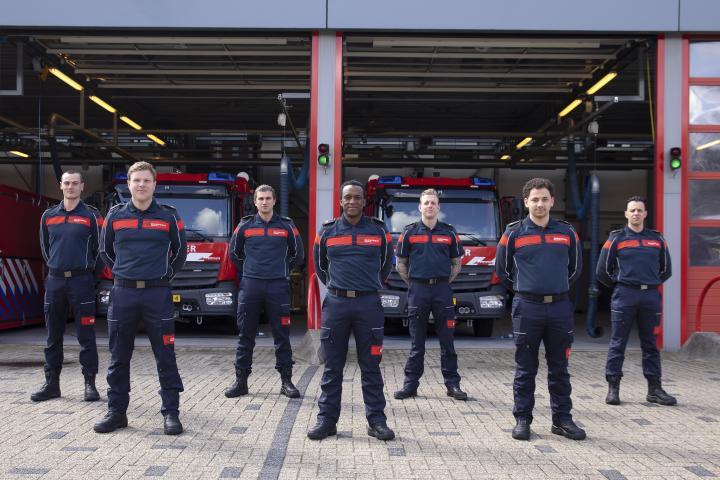 Nieuwe studenten Voltijd Leergang manschap brandweer
