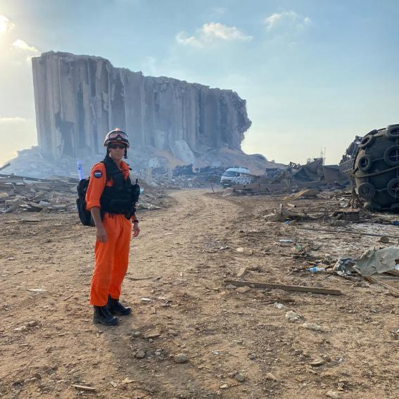 VRH-collega bij ramp in Beiroet